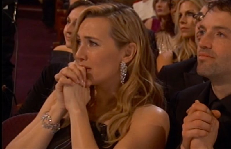 Kate Winslet watching Leo DiCaprio's #Oscars acceptance speech had me crying https://t.co/NxmwAvEyLi