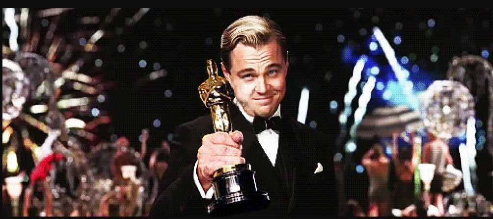 FINALLY! Congratulations to @LeoDiCaprio, you did it!