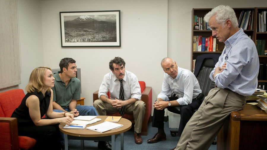 Here's @ReneMiamiHerald's four star review of #SpotlightMovie @MiamiHerald https://t.co/zjr980BLku https://t.co/wDDdfDEVVh