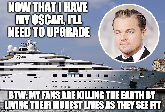 Congrats, Leo. You have now earned a bigger yacht. https://t.co/LoaJzQfsYp