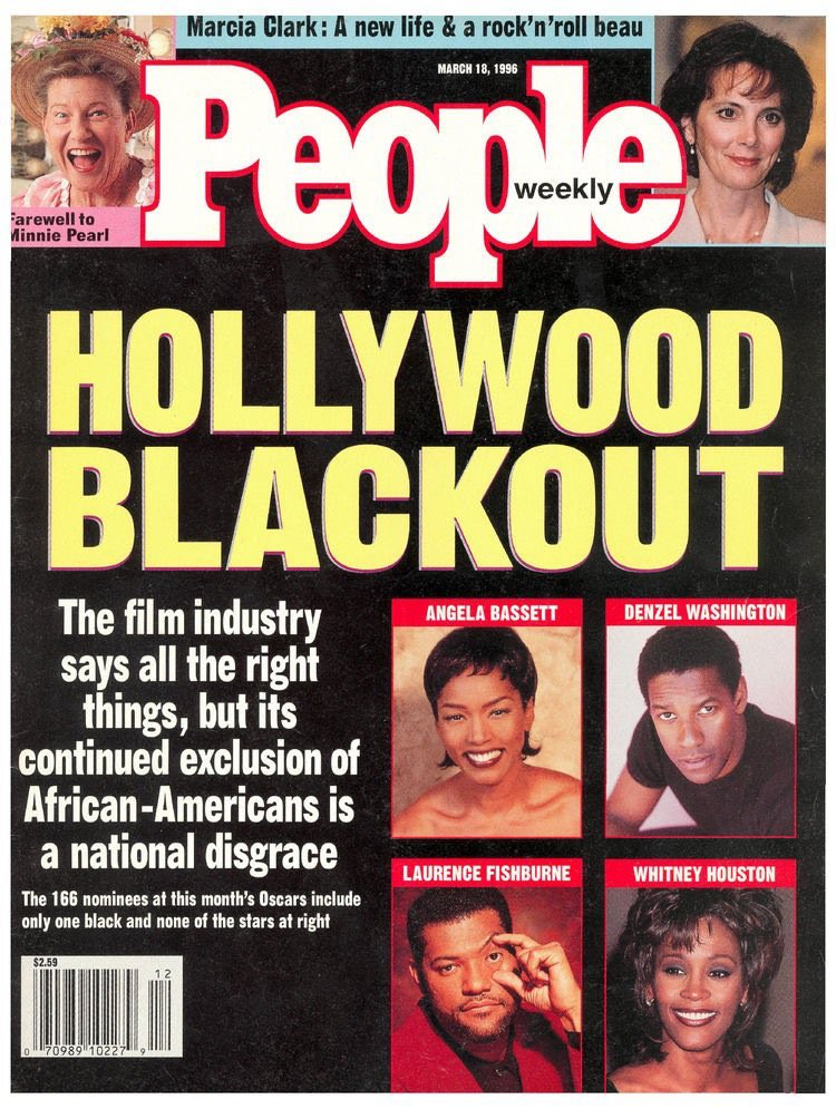 (And this was the cover of @people almost exactly 20 years ago.) #OscarsSoWhite
