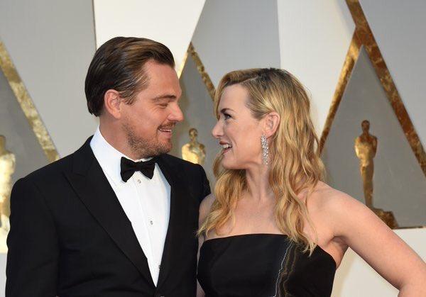 De todas las parejas que hemos visto llegar , esta sin duda es mi favorita #SoFar @LeoDiCaprio y #KateWinslet