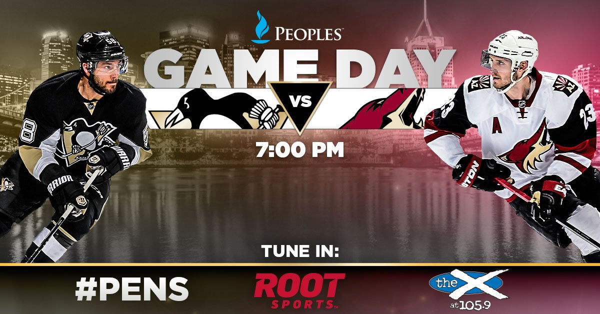 Pittsburgh Penguins On Twitter It S A Hockey Night And Penguin