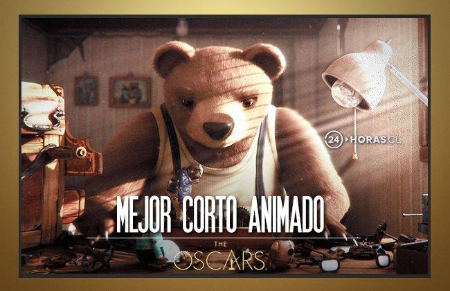 HISTÓRICO - Chile gana su primer Oscar con el corto 'Historia de un oso', felicitaciones a la productora Punkrobot