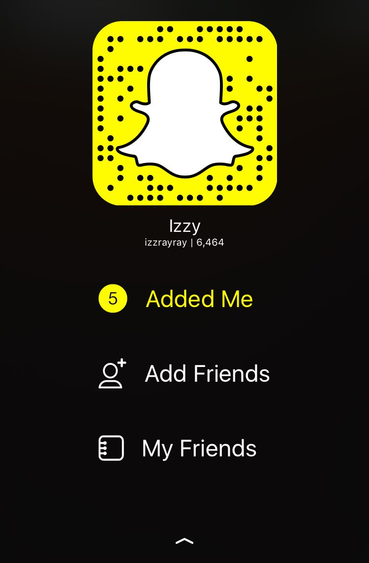 Snapchat Izzy nude photos 2019
