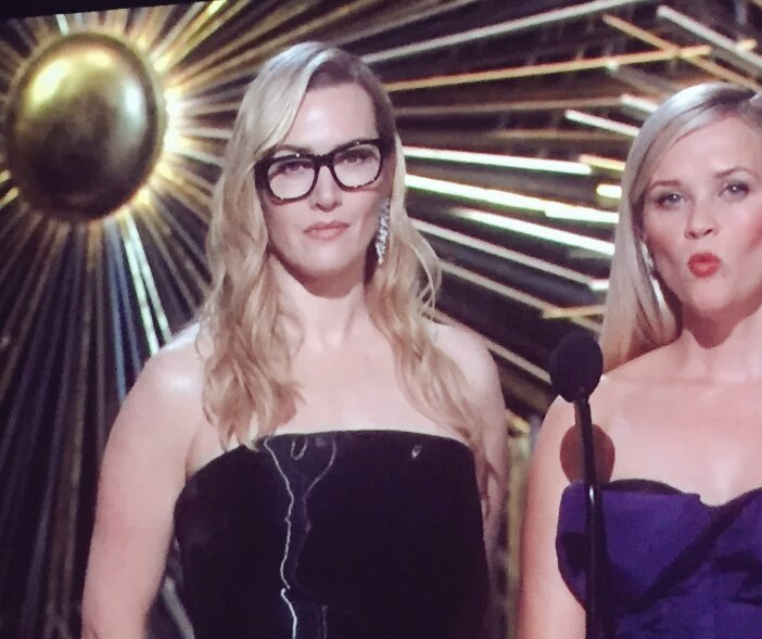 Hipster Kate Winslet liked Spotlight before it was nominated. #Oscars https://t.co/vbHIye7QGi