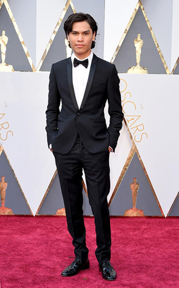 Congratulations to Albuquerque, New Mexico's own Forrest Goodluck. #NMTalent @ the #Oscars for his role in #Revenant https://t.co/rETMx02rlr