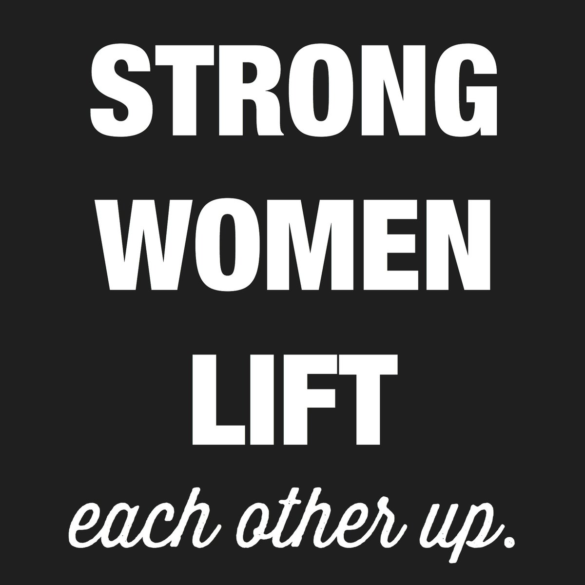 Support each other, ladies. https://t.co/lt1tA8DwSB
