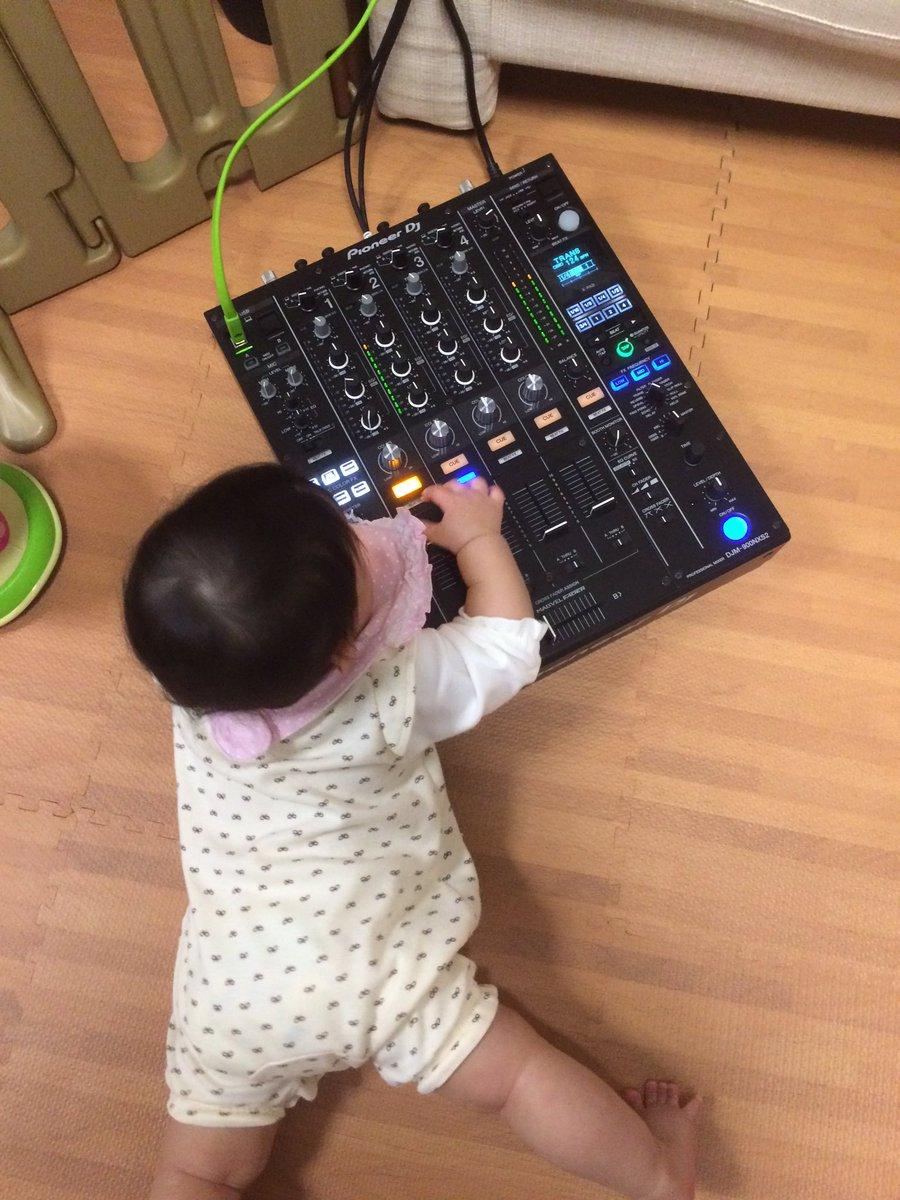 現役0歳児DJ https://t.co/aH3obJnMFX