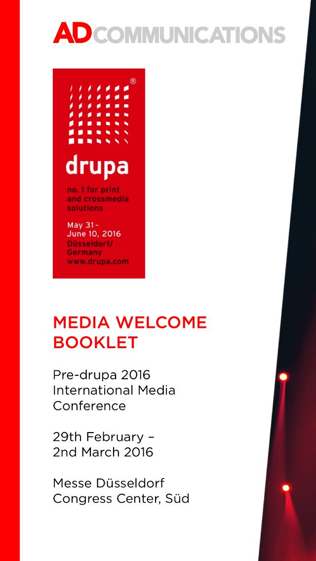 On my way to #Düsseldorf. #drupa #drupamediaweek #print https://t.co/4cDze0Ft74