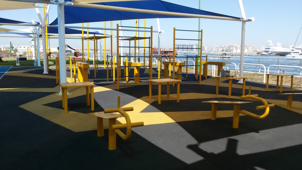 Skydive Dubai Outdoor Gym in Dubai   The Vacation Builder