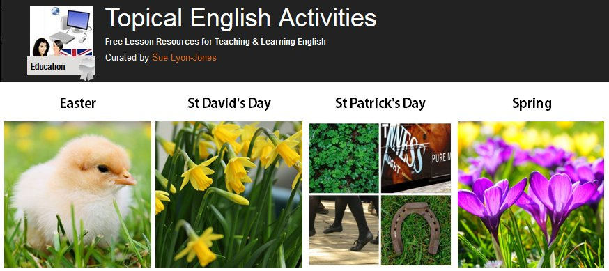Topical #English activities - #ELT lesson resources about March festivals and events https://t.co/MKocBxI9V2 #tefl https://t.co/nDKttMO8ou