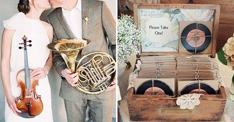Matrimonio Tema Musica Idee : Matrimonio a tema musica le note giuste per la tua cerimonia