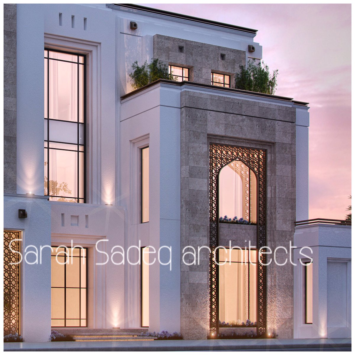 "Private Villa Sarah Sadeq Architects Kuwait: Arch. Sarah Sadeq On Twitter: ""Soon 400 M Kuwait Https://t"
