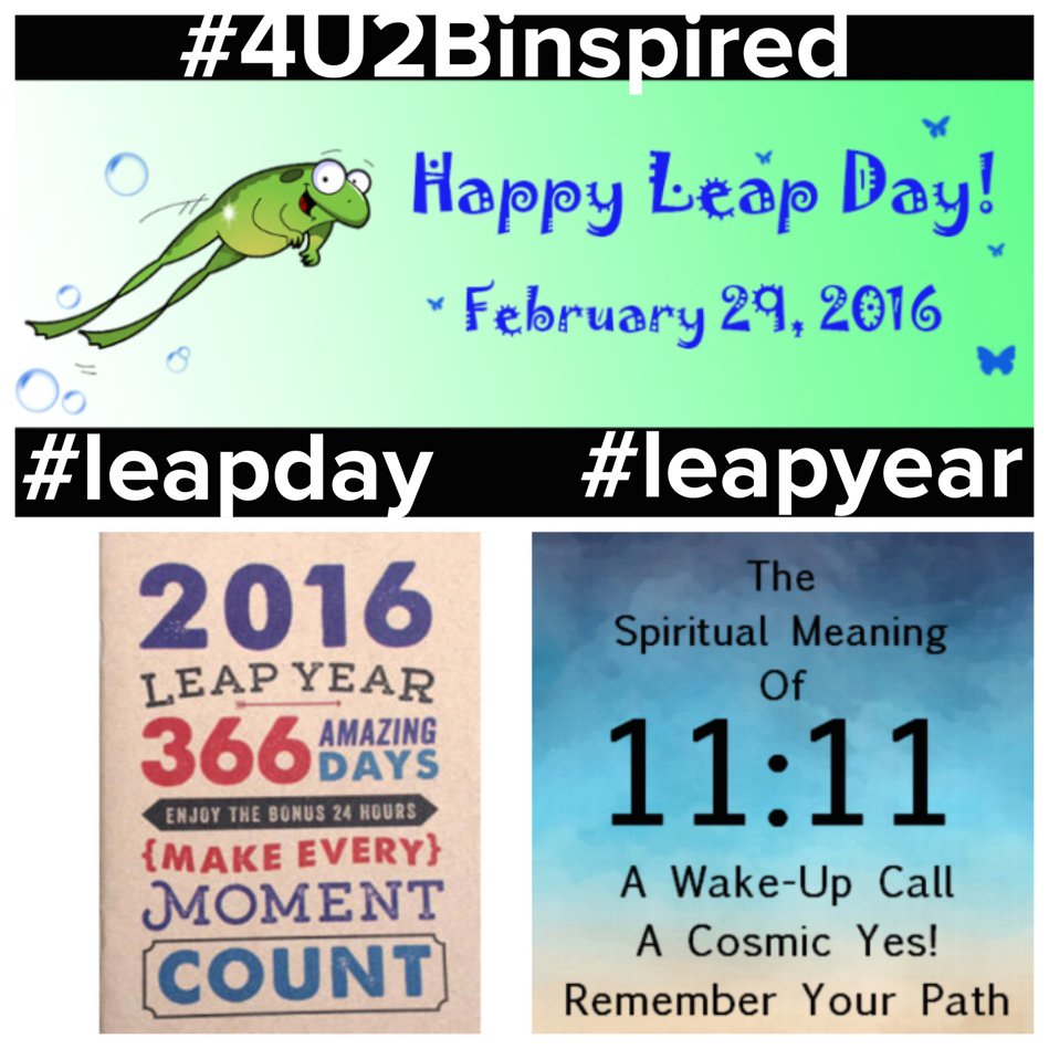 Good Morning and Happy Leap Day! 🌟💗 Once every 4 ... #namaste #nikkimoniquekurnath  http://goo.gl/gZ21vM