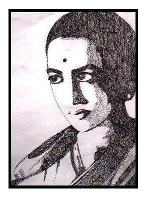 In honour of #RukminiDeviArundale. A sketch I did years ago. #Ink #Art https://t.co/IbzwYGK6bA