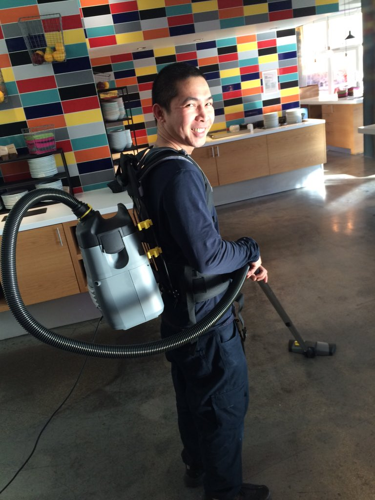 Ghostbuster feeling. Just a regular Monday @CoBorsparken  #effective #housekeeping #likeapro https://t.co/Uy6gD6GRbB