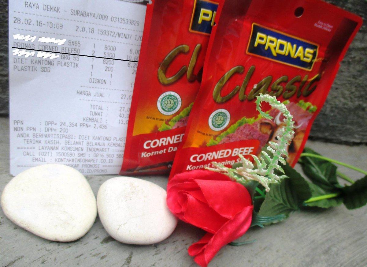 Bukticintapronas Hashtag On Twitter Corned Beef Pronas Sachet 0 Replies Retweets 1 Like