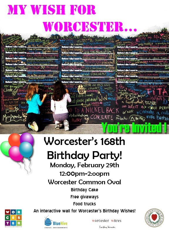 our birthday! Use #Worcester168 to tweet what you love about Worcester ...