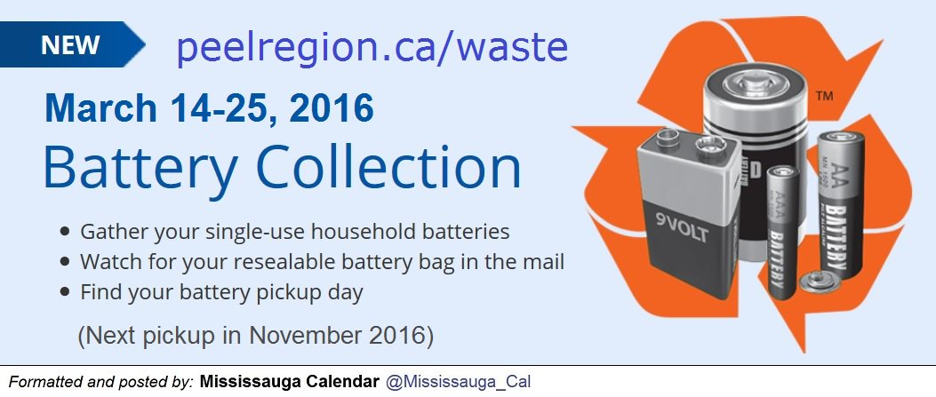 Peya On Twitter Peelyouth Let S Prevent These Batteries From Entering Landfills Myacmississauga Youthroundtable Yeacbrampton Https T Co P8pjnbaezc