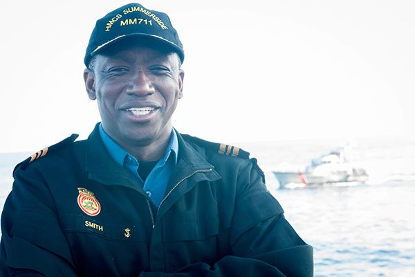 Jamaican Becomes Canada's First Black Naval commander