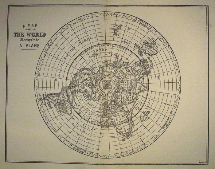 Flat earth society on twitter i cleaned up this old map so it is 829 am 29 feb 2016 gumiabroncs Choice Image