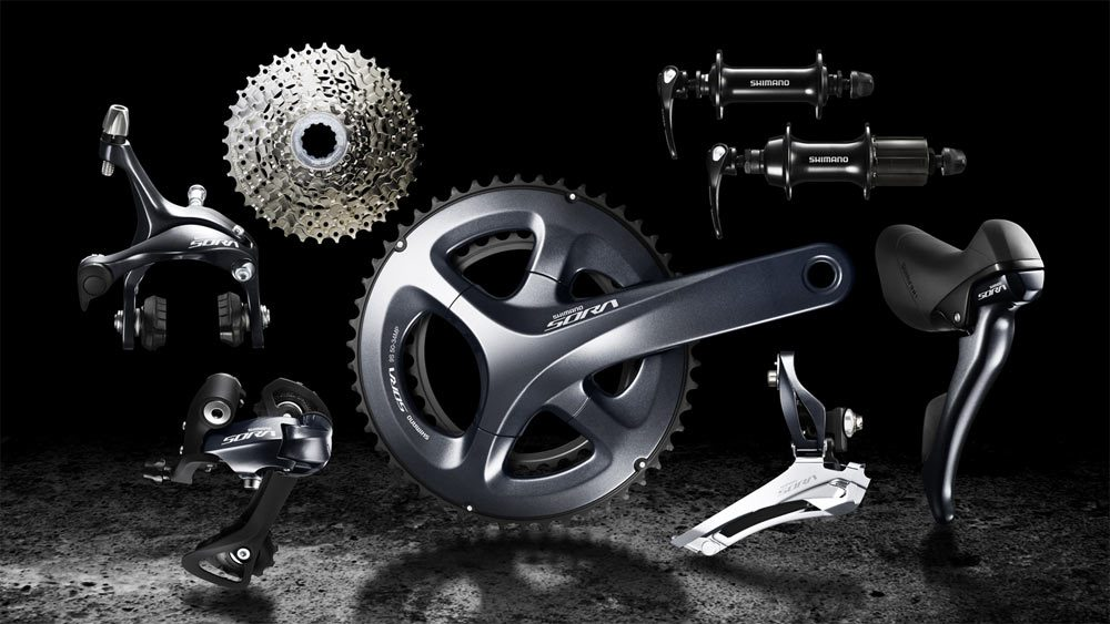 2017 Shimano Sora ups entry level game with disc brakes, four-arm cranks; still nine speeds https://t.co/FsiYzAPBfL https://t.co/e3k0ntoRZD