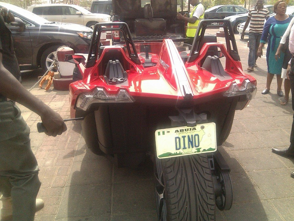 Check Out Senator Dino Melaye's Exotic Tricyle Worth $24,000