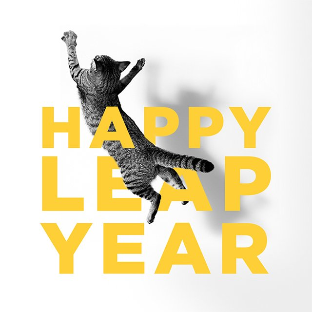 We love a good leap. #leapyear