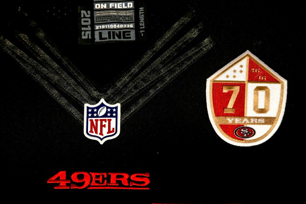 Take a closer look at the 70th anniversary logo 🔥 🔥 🔥 PHOTOS   http   49rs.co bG5aJb  FaithfulSince46pic.twitter.com dO83ectIrJ 7f551cece