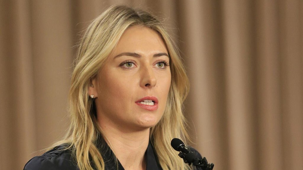 Nike announced it has suspended its relationship with Maria Sharapova https://t.co/tKuncezIX4 https://t.co/5eE5c2egSE