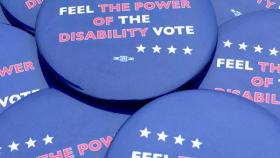 Disability Vote Pins