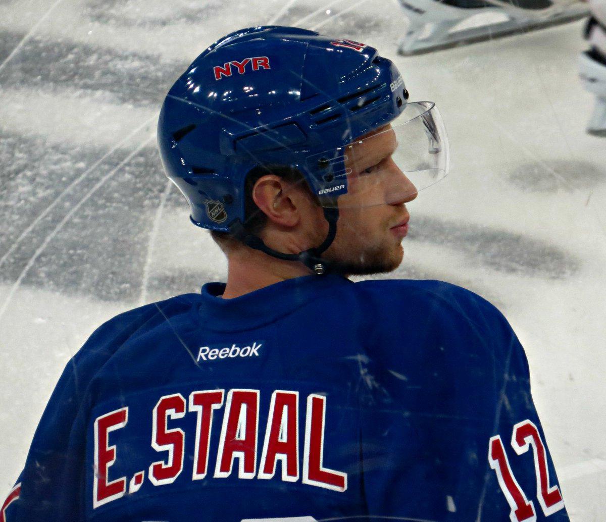 Some more looks at the newest Ranger, Eric Staal, shot from the stands: https://t.co/yDK9ATVIFY