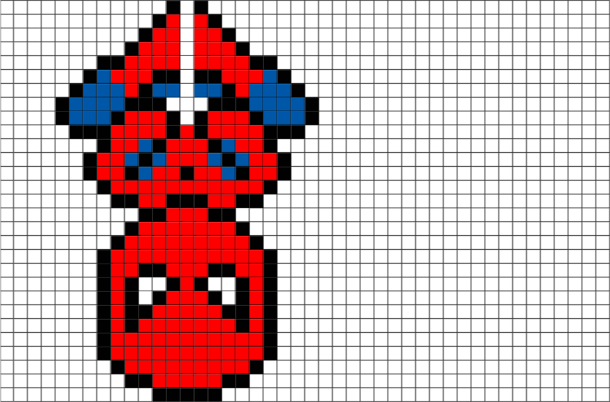 pixel art marvel
