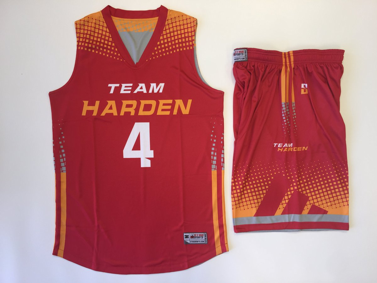5408f2efc Custom basketball uniform made to the exact specifications of  teamharden.   str8sports  aaubasketball  adidaspic.twitter.com wUHwi9PX8o