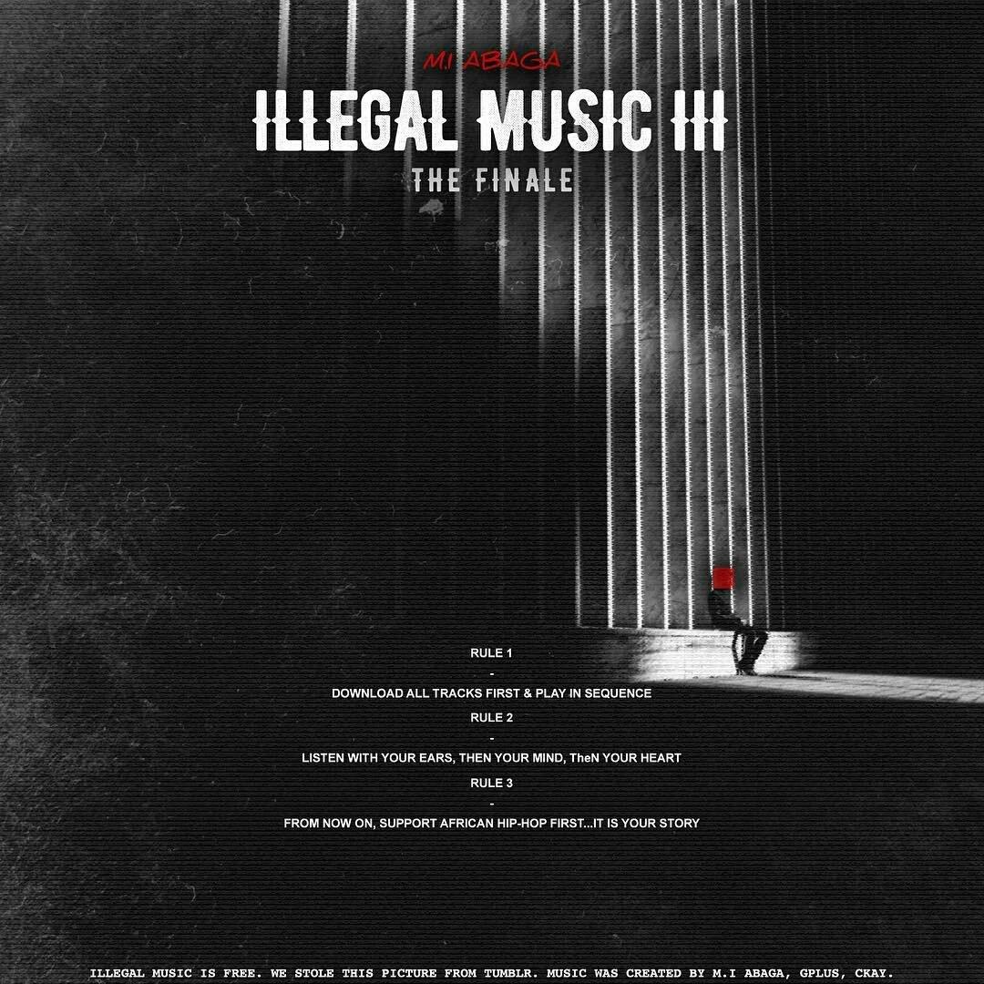 #IllegalMusic3 has over 40,000 downloads in under 2 hours.... #IM3  King @MI_Abaga https://t.co/5aarPVnFZN