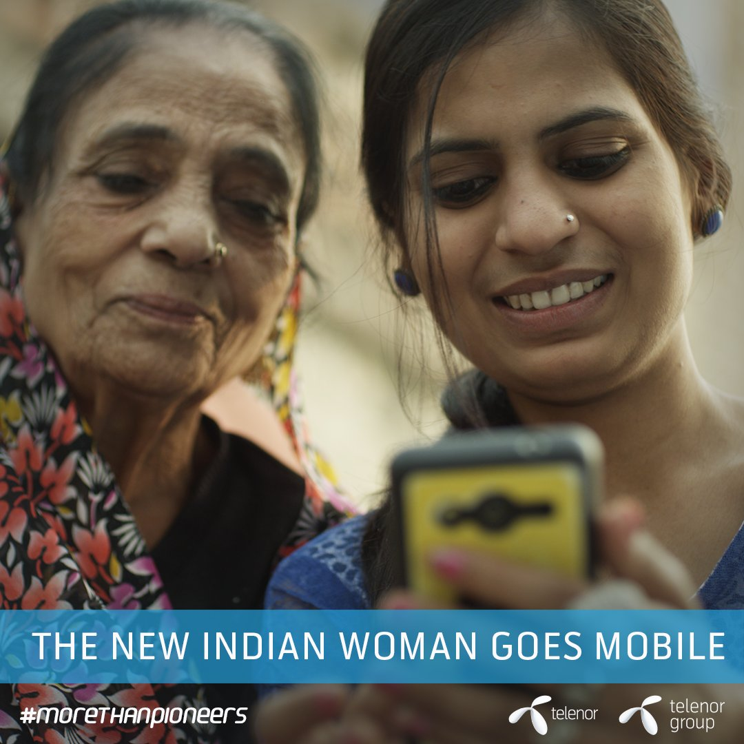 Mobile use among women in India is demonstrating a newfound zest for life. https://t.co/fRhDbZNFKK #morethanpioneers https://t.co/pvmsamYzxk