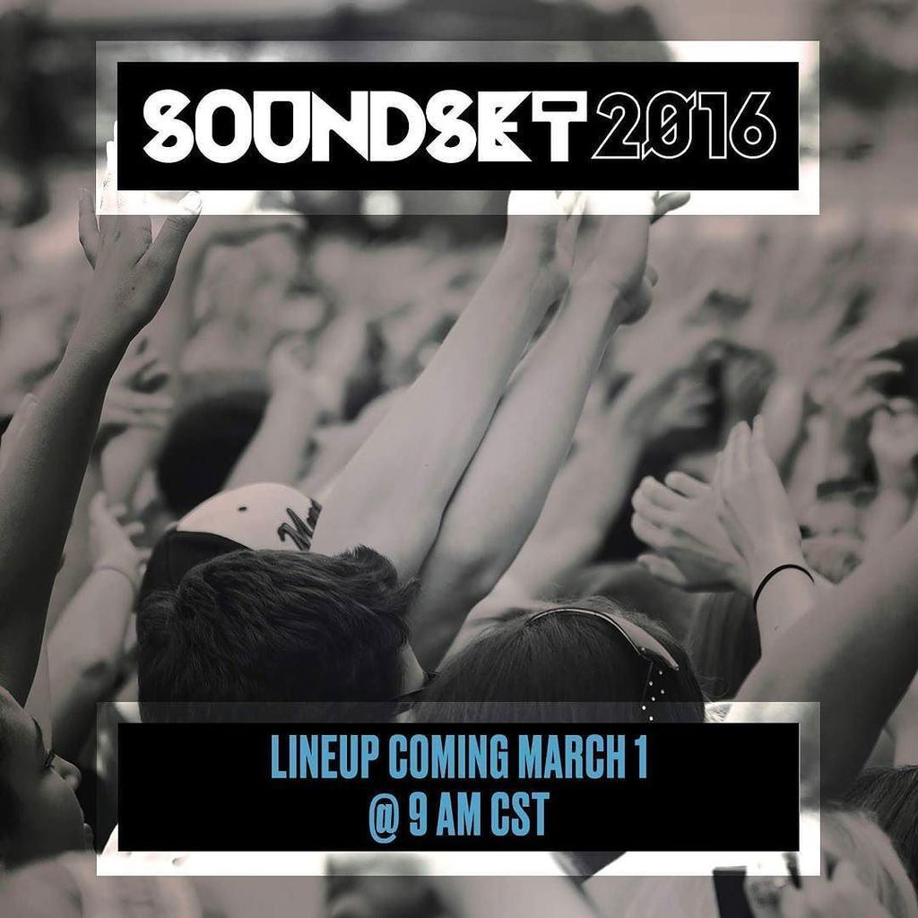 Go to bed. It's #RapChristmas tomorrow. #Soundset2016 #Soundset https://t.co/gqmPkbKfbI https://t.co/zRJMYkaZ0r