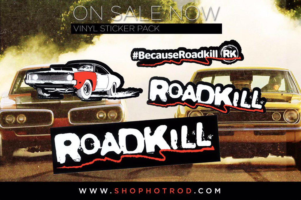 roadkill on twitter roadkill decal packs on sale now a. Black Bedroom Furniture Sets. Home Design Ideas