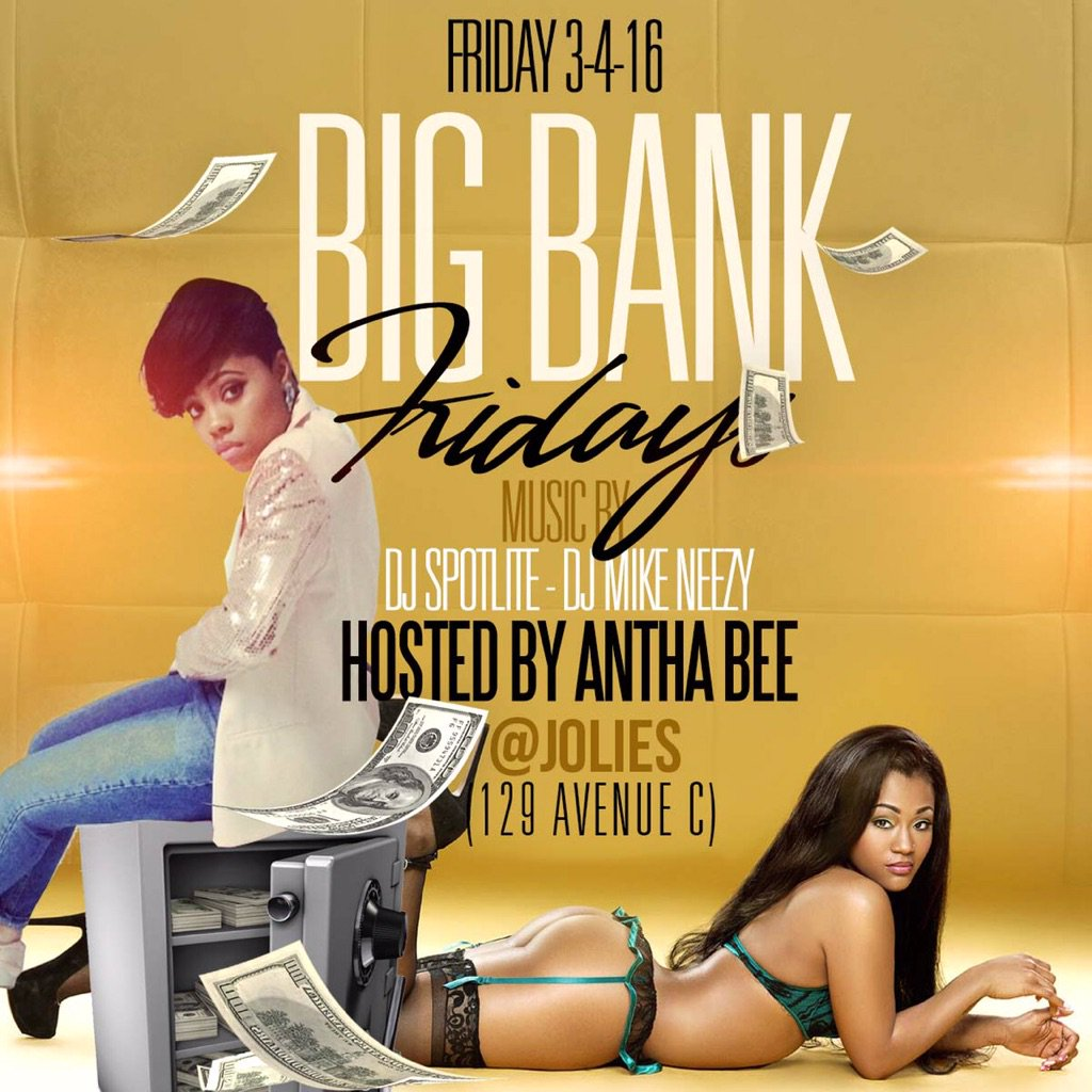 This Friday at Jolie's ..NYC https://t.co/OowW327vD1