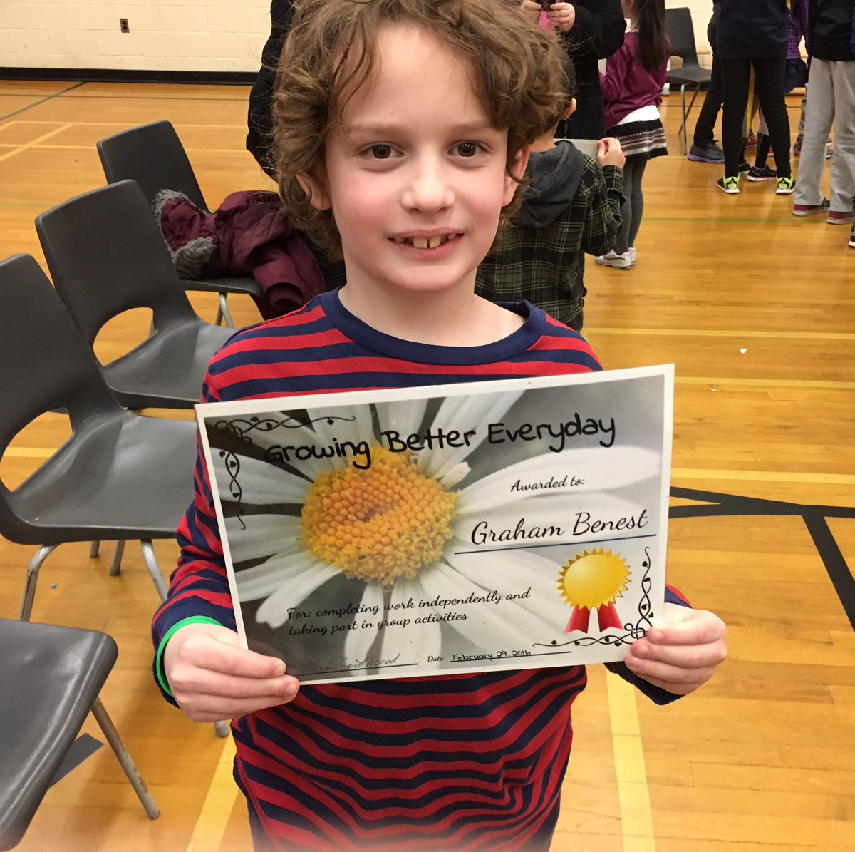 My son got an award at school today Angelique! #AskAngel @afmarcom https://t.co/BGVVbmeY4T