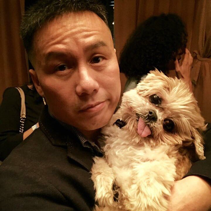 Picked up an old lady @ the @gotham party. She was, like, all over me. BEGGED her to go home with me. @MarnieTheDog https://t.co/mXN96oFIYl