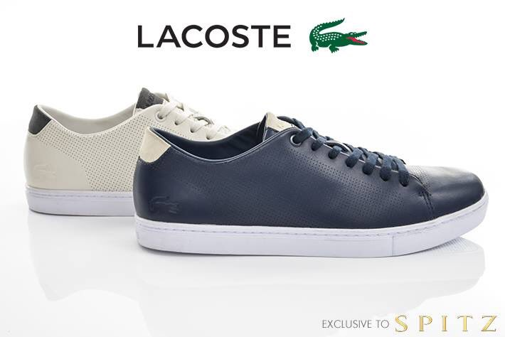 New lacoste shoes at spitz bin702 at the container park