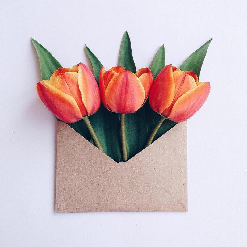 Открытка лет, открытки своими руками тюльпаны из бумаги