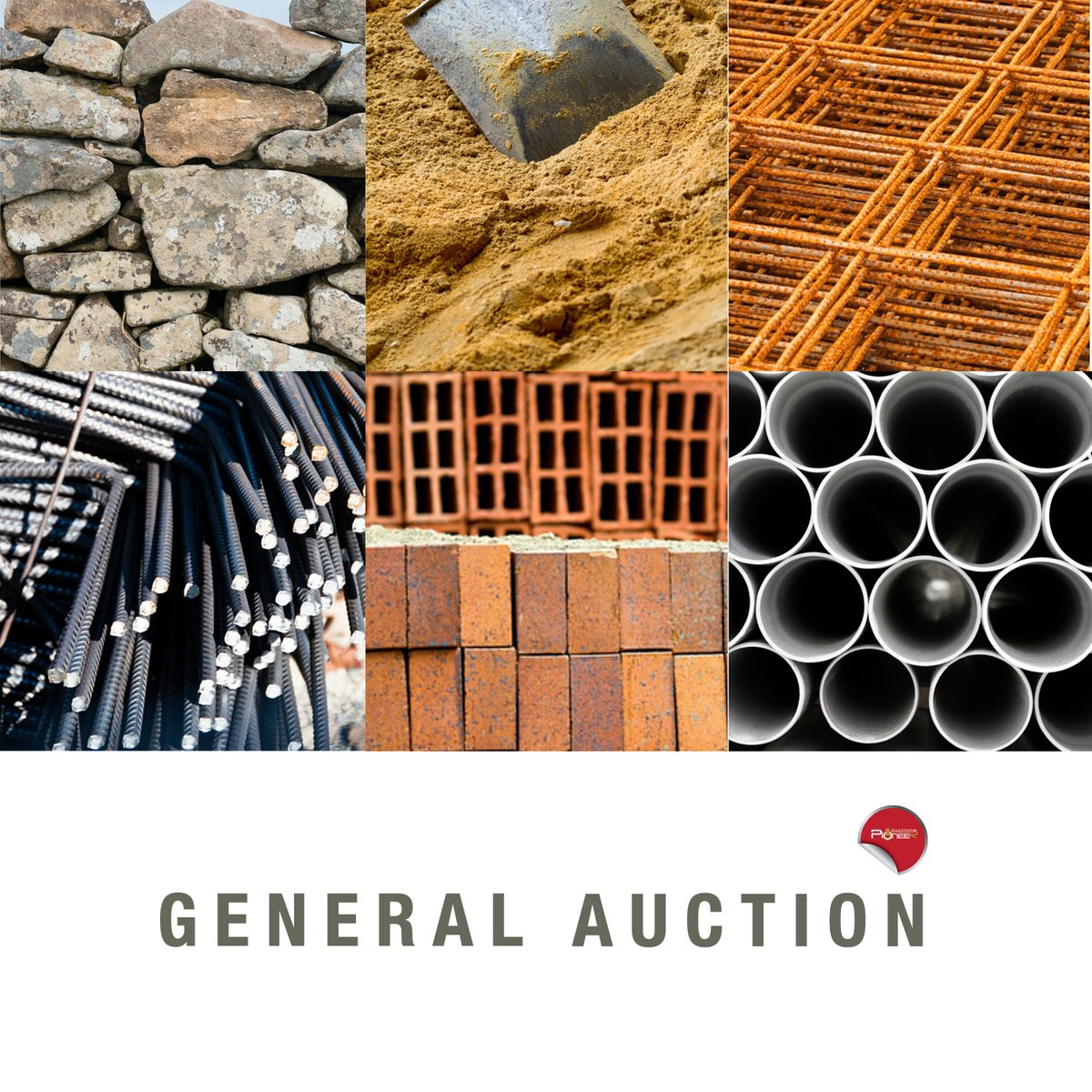 Join our General Auction dedicated for Construction Sector that will have all kind of building materials on SALE! https://t.co/Zz8lJqJYGF