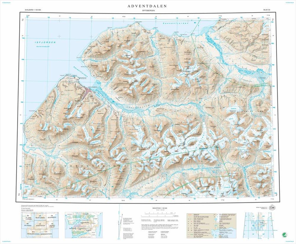 Norsk Polarinstitutt On Twitter Oppdatert Topografisk Kart Over
