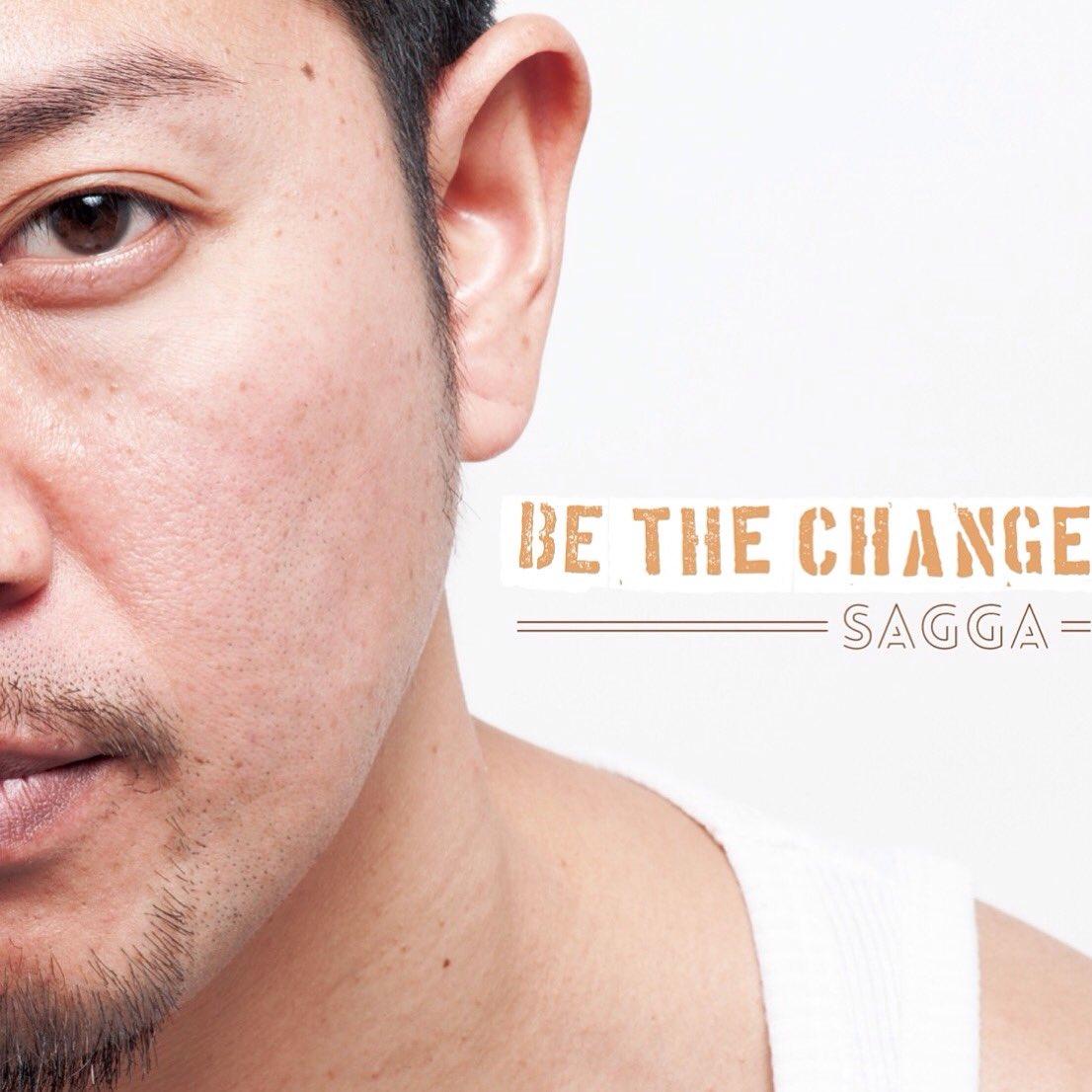 SAGGA NEW SOLO ALBUM  BE THE CHANGE  4/13 全国発売致します きっと誰もが優しくなれるアルバムになりました  皆様、どうか宜しくお願い致します。 https://t.co/yTW7tFVquL