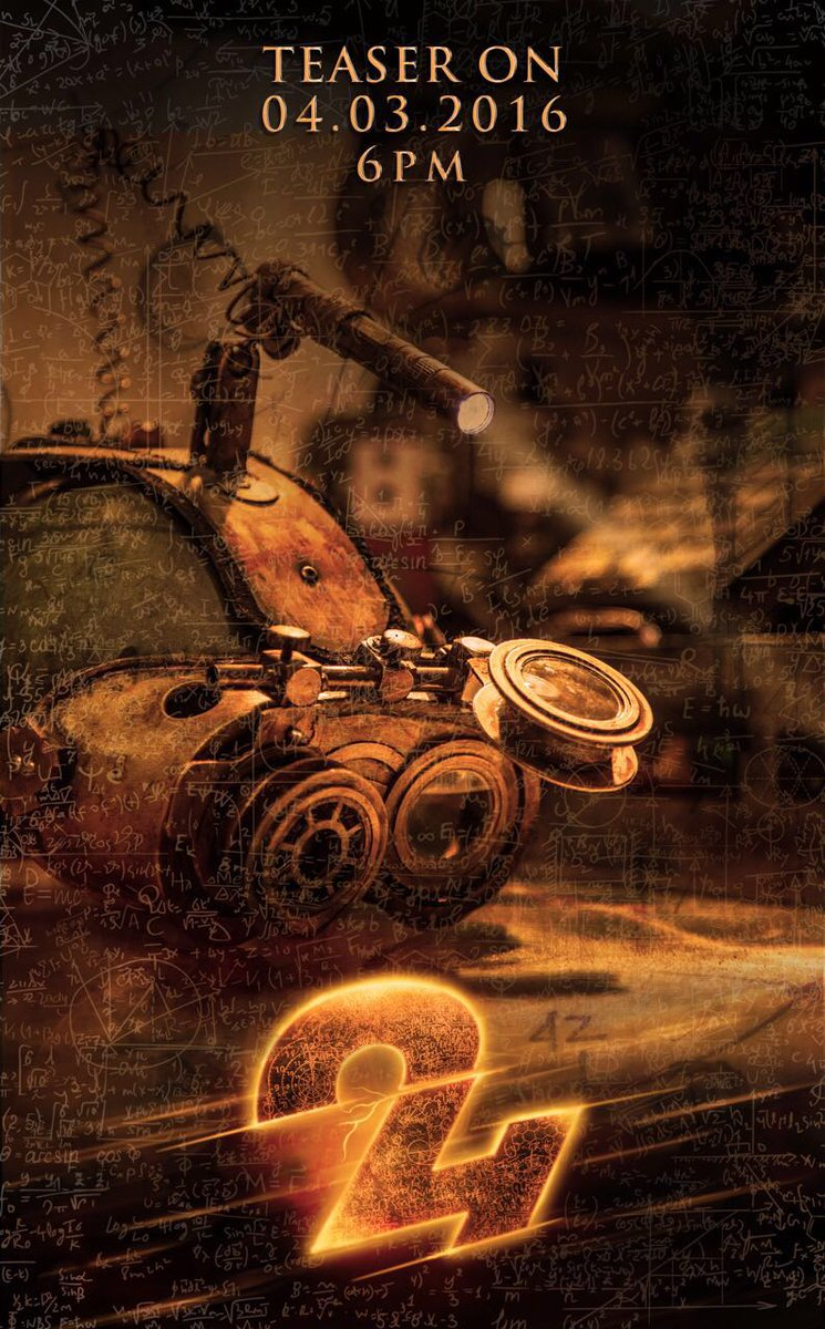Saw #24 TEASER in advance. Truly a mind blowing one @Suriya_offl & #VikramKumar taking South cinema to next level