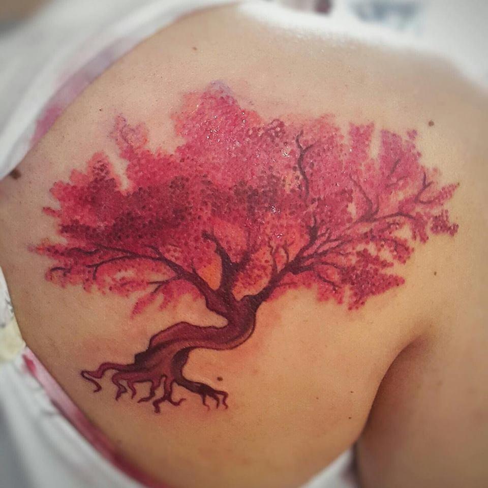 Molly On Twitter Un Gusto Hacer Este Tattoo Tatuaje De Un árbol