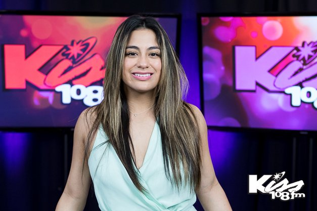So much fun with @AllyBrooke from @fifthharmony today! Thanks for stopping by